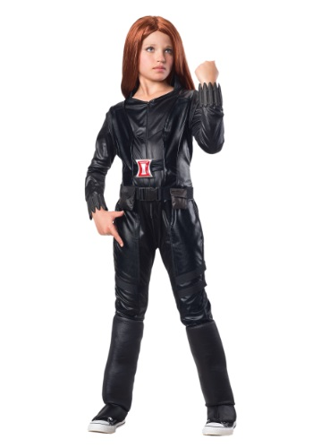 Disfraz infantil de la viuda Negra deluxe