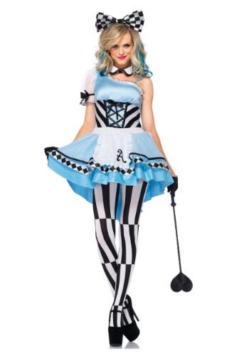 Disfraz de Alicia psicodélica para adulto
