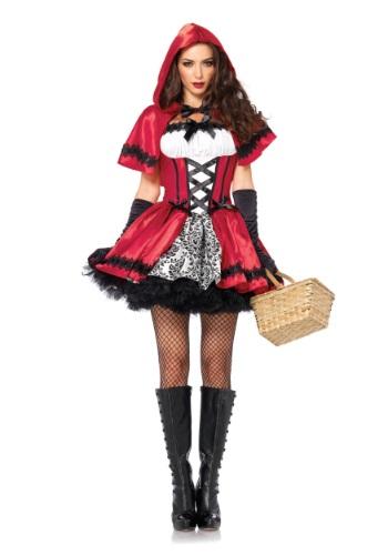 Disfraz gótico de Caperucita Roja para adulto