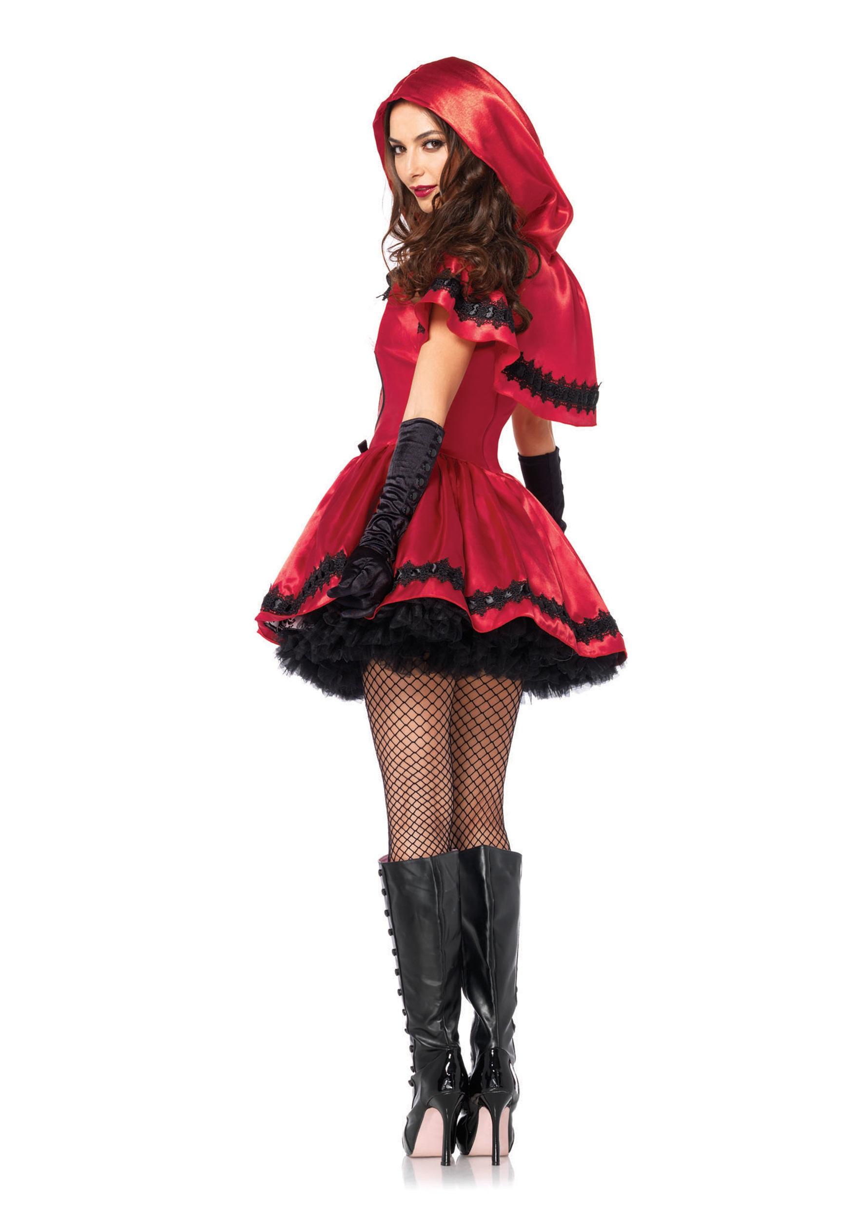 Disfraces Para Halloween De Caperucita Roja.Disfraz Gotico De Caperucita Roja Para Adulto