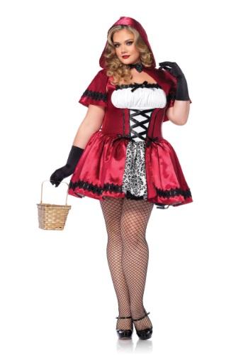Disfraz gótico de Caperucita Roja talla extra