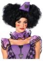 Peluca negra de Reina de Corazones