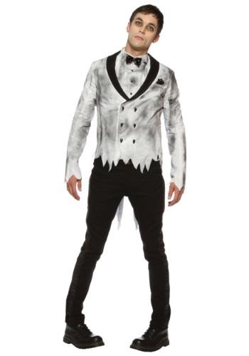 Disfraz de novio zombi para hombre talla extra