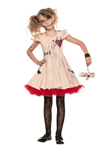 Disfraz de muñeca vudú infantil