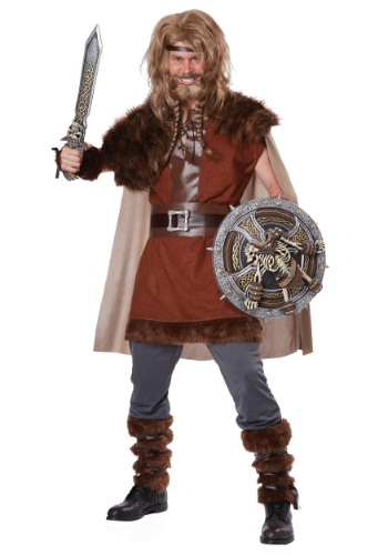 Disfraz de vikingo poderoso para hombre