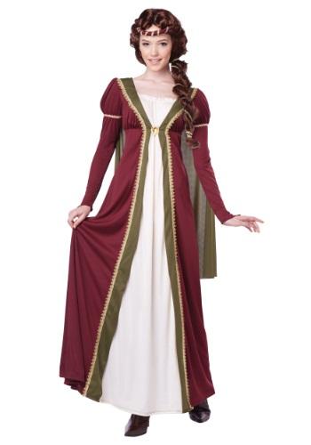 Disfraz de doncella medieval