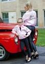 Plus Size Pink Ladies Jacket Alt 1