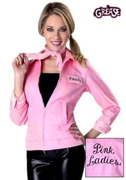 Chaqueta auténtica de Vaselina rosa para mujer talla extra