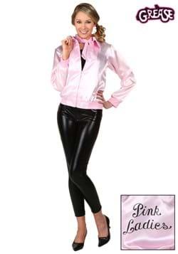 Chaqueta adulta de las señoras de la grasa rosa