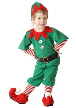 Disfraz de duendes de Navidad feliz para niños pequeños
