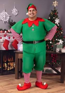 Disfraz de Elfo de Navidad talla extra