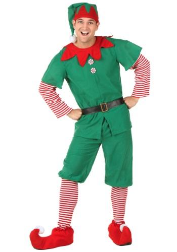 Disfraz de elfo festivo para adulto