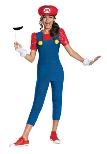 Disfraz de Mario para niñas tween