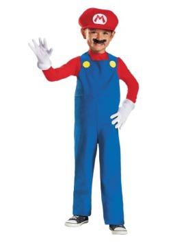 Disfraz de Mario para niños pequeños