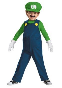 Disfraz de Luigi para niños pequeños