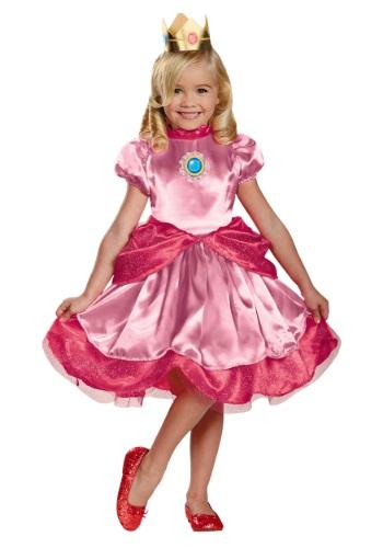 Disfraz de la princesa Peach para niños pequeños