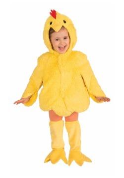 Disfraz de pollo de felpa infantil