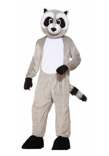 Disfraz de Mascota de Rickey Raccoon