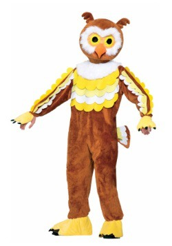 Disfraz de mascota búho