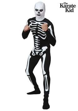 Disfraz de esqueleto de Karate Kid