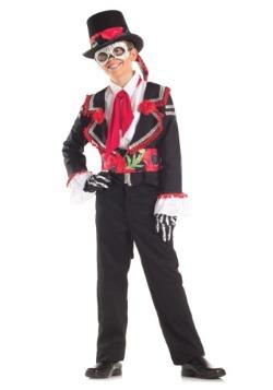 Disfraz infantil del Día de Muertos