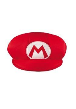 Gorra de Mario para adulto