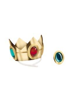 Corona y amuleto de la Princesa Peach