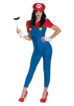 Disfraz de Mario Deluxe Femenino