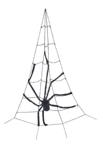 Telaraña para esquina con araña
