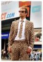 Imagen de traje estampado animal de Jaguar para hombre 3