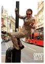 Traje OppoSuits con impresión de jaguar para hombre