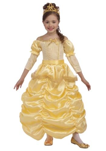 Disfraz infantil de hermosa princesa