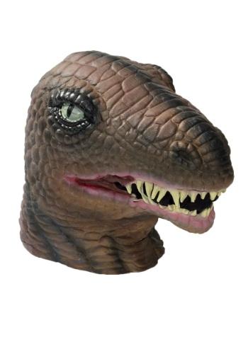 Máscara de látex de lujo de dinosaurio