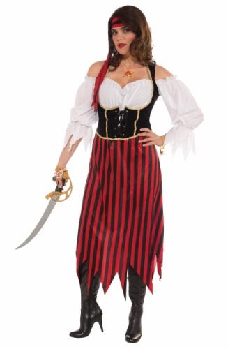 Disfraz de doncella pirata talla extra