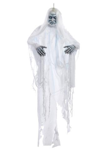 Colgante de fantasma de sombra blanco