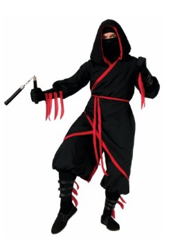 Disfraz de ninja granuja para adulto