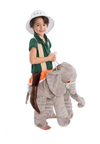 Disfraz infantil de monta un elefante