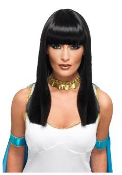 Peluca de Cleopatra deluxe para adulto