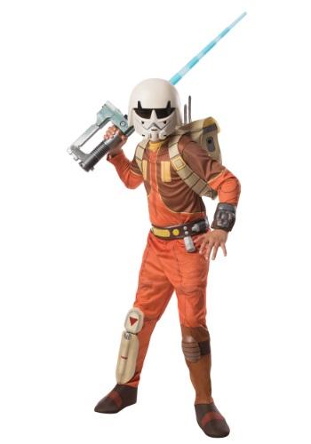 Disfraz de Ezra Star Wars Rebels para niños