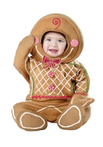 Disfraz de hombre de jengibre para bebés