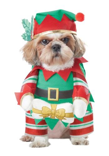 Disfraz de elfo para perro