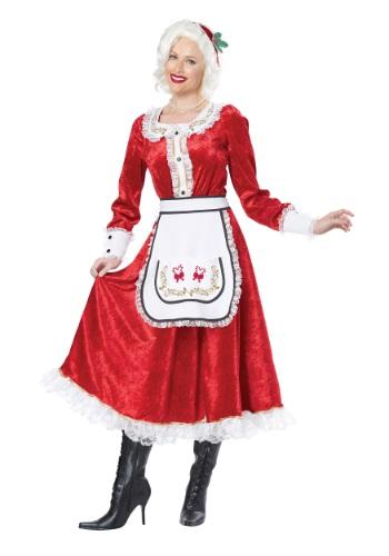 Disfraz clásico Sra. Claus