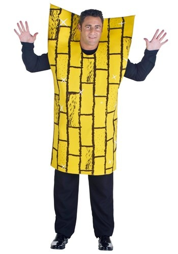 Disfraz camino amarillo para adulto talla extra