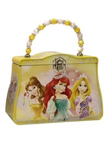 Bolso de estaño de las princesas amarillas de Disney