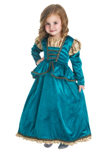 Disfraz de princesa escocesa para niñas