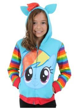 Sudadera de Rainbow Dash para niñas