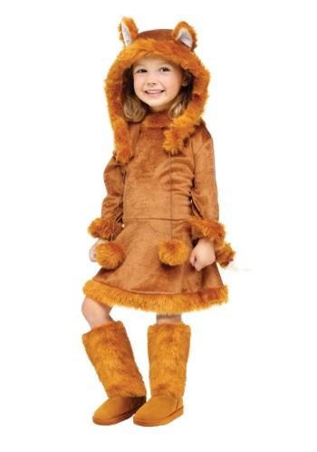 Disfraz de zorro dulce para niña