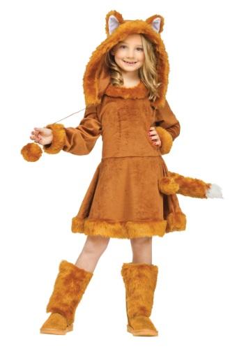 Disfraz de zorro para niñas dulces