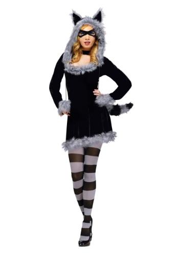 Disfraz de mapache para adulto