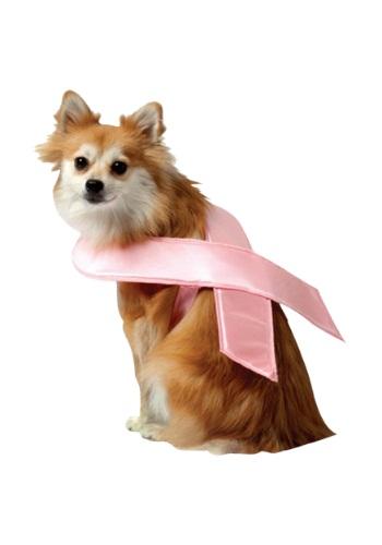Disfraz de perro con cinta rosa